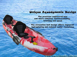 1 - 2 or 3  Seater Deluxe kayak Package - Only $699 Albion Park Shellharbour Area Preview