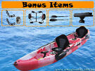 SALE !! SALE !! BRAND NEW 2 + 1 KAYAK CANOE FISHING PACKAGE $729
