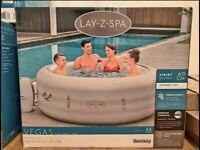 Lay Z Spa Vegas 6 person lazy spa hot tub