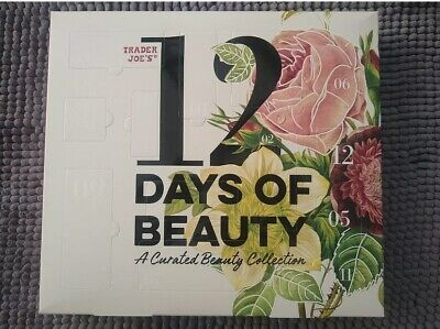 Trader Joe's 12 Days Of Beauty Advent Calendar Curated Set Holiday Gift 2020
