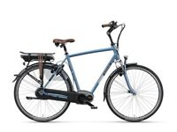 Batavus Milano E-Go 400Wh Men's Bike 57cm 8V - Blue-Gray electric bike