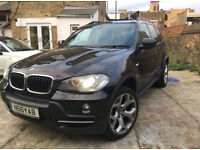 08 BMW X5 Black with unmarked Black Leathers - Full BMW service history, 108k miles *****!