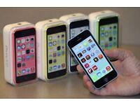 UNLOCKED BRAND NEW APPLE IPHONE 5c 16GB