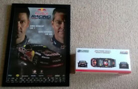 Limited 1/18 Scale #888 Craig Lowndes Commodore & Poster 2014/15
