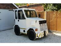 Rare Fmw airport tug , diesel, automatic road legal.