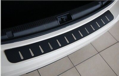 Mercedes R-Klasse W251 2005-2013  Ladekantenschutz  Edelstahl mit Carbon Style