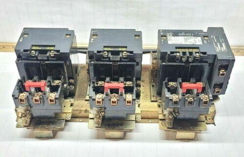 SQUARE D SIZE 2 MULTI-SPEED MOTOR STARTER 600 VAC 120V COIL 25 HP 8811SD01