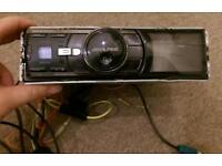"""Alpine i DA-X100 Face Off Media Player USB IPOD 2.2"""" Display Head Unit"""