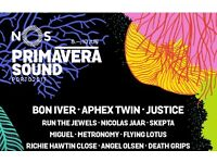PRIMAVERA SOUND full festival ticket