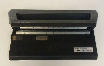 Rolodex Punchodex 3-hole Paper Punch P-500