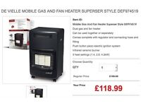 Mobile Gas And Fan Heater Superser Style DEF974519 Blow Heater