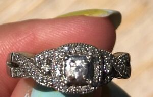.25 carat Diamond Promise Ring