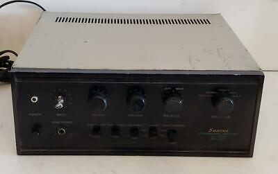 Sansui Integrated AMP AU-222 Retro Amplifier Solid State Stereo Vintage