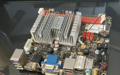 ZOTAC IONITX-A-U Atom 330 1.6GHz Dual-Core NVIDIA ION Mini ITX Motherboard/CPU
