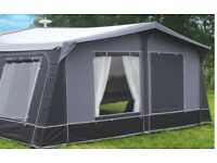 975cm Streetwize Frontera caravan awning. Two tone grey, cost £590 accept £275