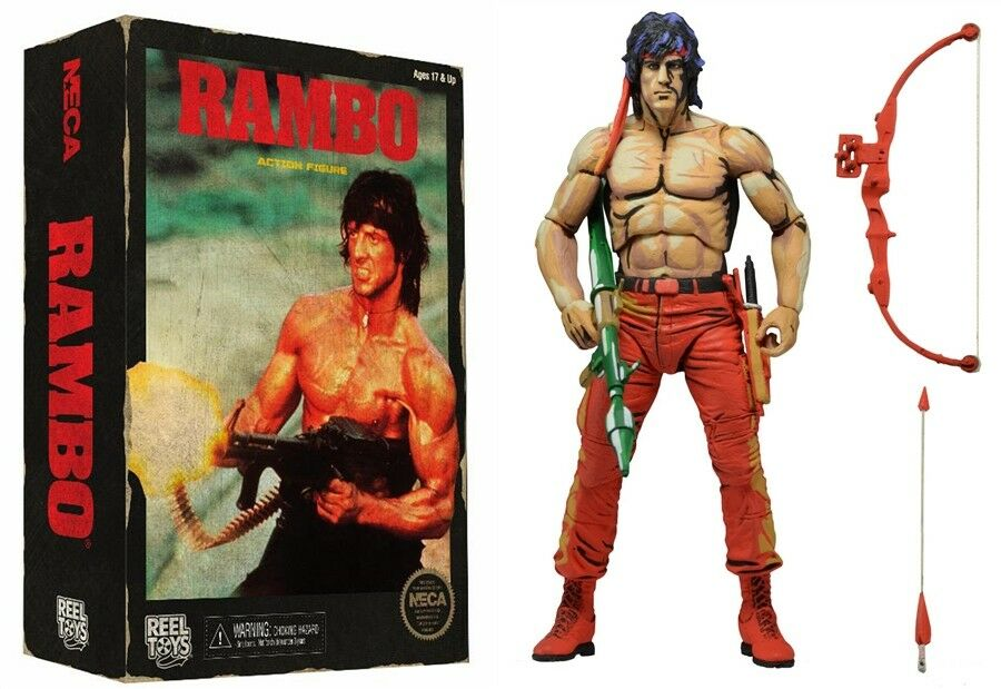 Rambo First Blood Part II Classic Video Game Action Figure