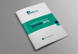 Clean Brochure Design, Booklet, Magazine, Proposal, Catalogue, Service