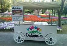 D is for Delicious - Delicious Dutch Pancakes Food Van Sutton Gungahlin Area Preview