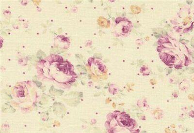 1 Floral Flower Arrangement Panel 100/% Cotton Quilting Fabric