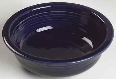 VINTAGE  FIESTA BLUE USED NO CHIPS CRACKS ORIGINAL 6 CEREAL BOWLS SET