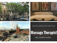Full Body Relaxing Swedish Massage, Sports & Deep Tissue By Qualified Masseur Gay Friendly Therapist