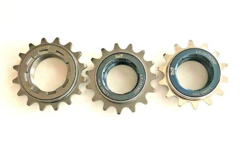 Chromoly BMX, Fixie, Single Speed Bicycle Cog Freewheel Sprocket, 14T, 15T, 16T