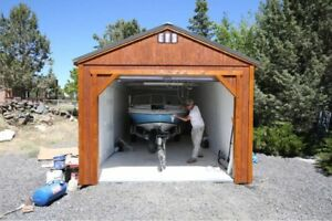 Shed with Garage package starting from $5640