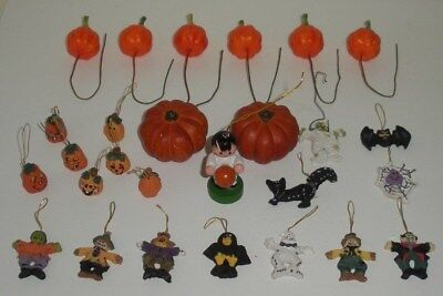 27 Pieces Miniature Halloween Decorations - Used Halloween Decorations