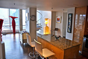 Stunning 3 Bedroom Penthouse Suite in Downtown Montreal
