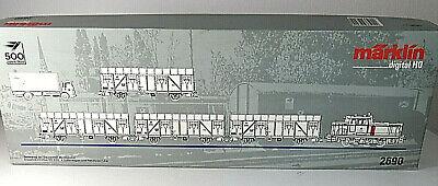 LEERKARTON mit LKW Zugpackung Bundespost  Märklin 2690