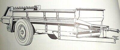 Massey Ferguson 20 Manure Spreader Parts Catalog Manual Book Original Mf 667