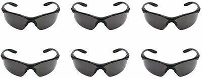 3m Virtua Protective Eyewear V6x Gray Hard Coat Lens Black Frame - 6pack