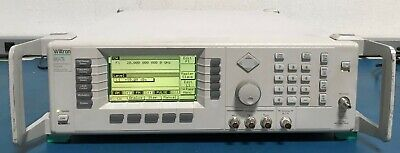 Anritsuwiltron 68347b-2a-11-16 Sweepersignal Generator 10mh-20ghz