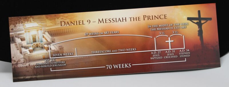 Daniel Chapter 9 Prophetic Bookmark