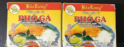 - Bao Long Pho Ga Chicken Soup Pho Seasoning 2 Packs Of 4 Cubes