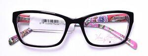 VERA BRADLEY Marcella Pink Swirls Eyeglass/Glasses Frames 51-17-135 W/ Case >NEW