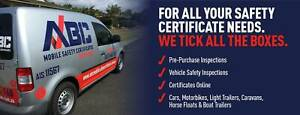 ABC Mobile Safety / Roadworthy Certificates