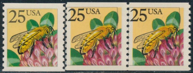 """#2281b Line Pair """"bee"""" Black Color Shift Major Error Br8507"""