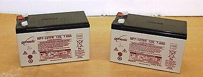 RAZOR E200 E200s E300 & E325 BATTERIES SCOOTER BATTERY12V 7Ah x2  PREMIUM BRAND