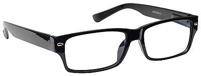 UV Reader Kurzsichtigkeit Entfernung Brille Herren Damen Schwarz UVMR006