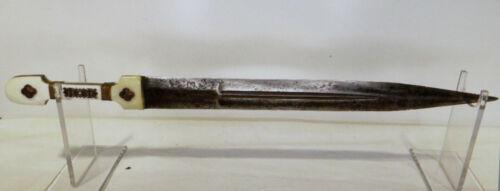 Nice old Kinjal dagger, gold inlaid c.1850