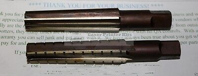 MT3 No.3 Morse Taper Reamer Set 2pcs USSR Morsekegel 3