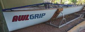 16ft Skiff hull, Epoxy Kevlar construction, sound Carina Heights Brisbane South East Preview