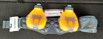 170aa405d18a New Balance Runners Fuel Belt Helium H2o New 2 Bottle Hydration Belt
