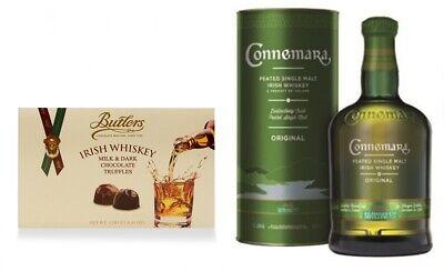 Connemara peated irischer Single Malt Whiskey Whisky + Irish Whiskey Truffles