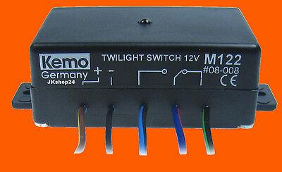 Dämmerungsschalter Einbau-Dämmerungschalter TAG-NACHT-Schalter Lichtschalter 12V