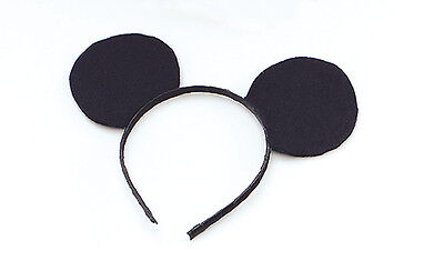 Mouse Ears Headband Mickey Minnie Mouse Party Supplies Hats Costume Fancy Dress (Mickey Mouse Kostüme Accessoires)