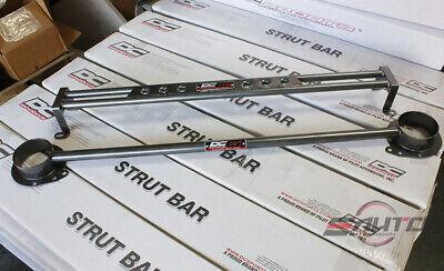 DC Sports Front + Rear Carbon Steel Strut Bar Brace for FRS BRZ Toyota 86 13-18 Brace Rear Carbon Steel Strut