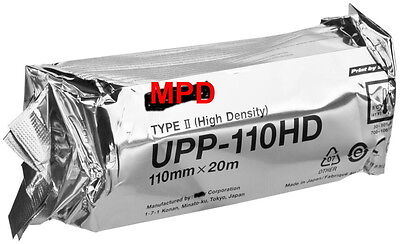 5 NEW ROLLS UPP110HD ULTRASOUND PAPER FOR SONY TYPE II HIGH DEFINITION PRINTERS
