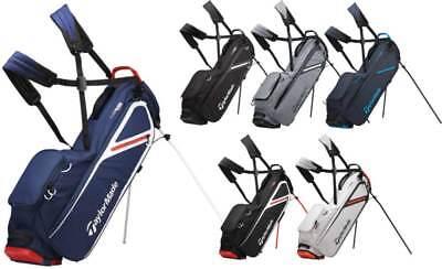 TaylorMade FlexTech Lite Stand Bag 2019 Golf Carry Bag New - Choose Color